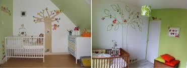 thème décoration chambre bébé la déco forêt pour chambre bébé une affaire d intérprétation