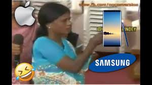 Samsung Meme - when apple iphone user touches samsung galaxy note 8 funny meme