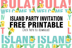 an island invitation maxabella
