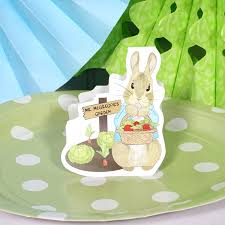mr mcgregor s garden rabbit rabbit table decorations