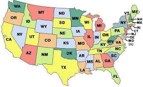 us state abbreviations map the trip