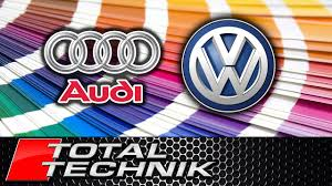 where to find audi vw volkswagen paint colour color code all