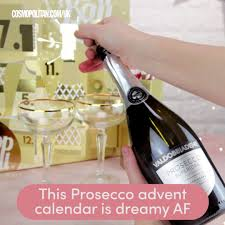 cosmopolitan bottle cosmopolitan uk this prosecco advent calendar is