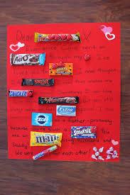 chocolate bar anniversary card gift ideas pinterest