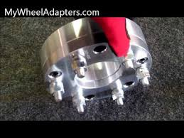 mustang 4 to 5 lug adapters 5 to 6 lug wheel adapter spacer