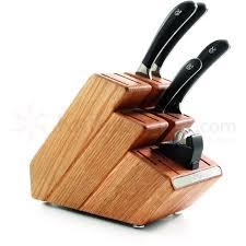 robert welch kitchen knives robert welch signature 6 piece oak step up block set german din