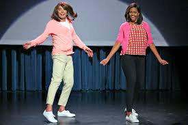 michelle obama and jimmy fallon dance off in u0027the evolution of mom