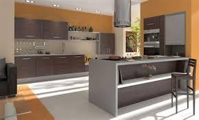 modele cuisine equipee modèle de cuisine equipee 8 conrav cuisine blanche et bois