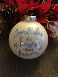 ornament because someone we is in heaven ornament beautiful