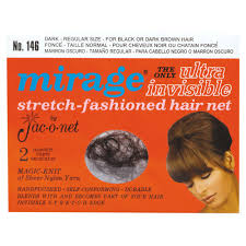 invisible hair jac o net mirage ultra invisible hair net