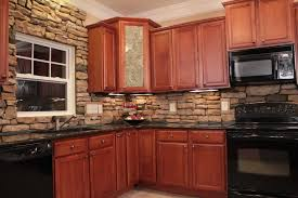 Stone Veneer The Natural Choice For Your Home Remodel - Stacked stone veneer backsplash