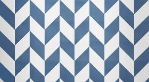 chevron pattern in blue modern lively lava stone floor inspired by classic chevron pattern