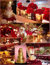 collections of red black gold wedding theme bridal catalog