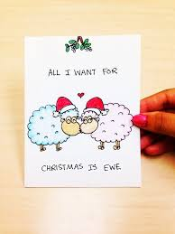 drawn adorable christmas card pencil and in color drawn adorable