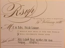 in wedding invitations reply to wedding invitation amulette jewelry