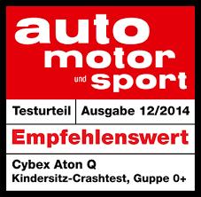 siege auto kiddy crash test aton q cybex global