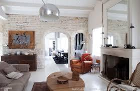 mur deco pierre décoration salon avec la pierre
