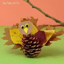 Pinecone Pinecone Turkey Craft Easy Peasy And Fun