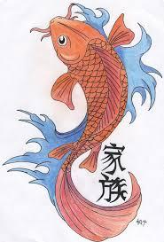 koi carp tattoo images drawn koi colourful fish pencil and in color drawn koi colourful