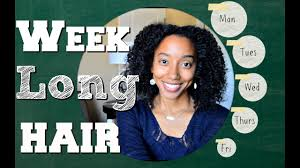 one week long protective hairstyles natural hair twist out