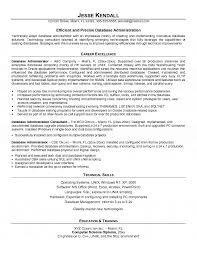 database engineer resume exol gbabogados co