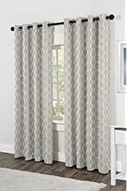 amazon com exclusive home curtains finesse grommet top window