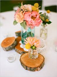 Mason Jar Flower Arrangement Spring Wedding Small Floral Arrangements Mason Jars 2054253