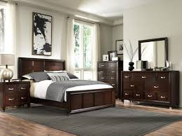 Broyhill Mission Style Bedroom Furniture King Panel Headboard And Low Profile Footboard Bed By Broyhill