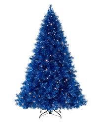 sassy sapphire blue tinsel tree tinsel tree