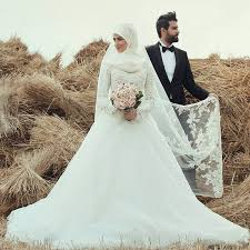 robe de mariã e satin saudi arabia muslim wedding dress 2016 sleeve arabic