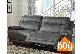 Gray Austere Power Reclining Sofa View 1 Furniture Pinterest