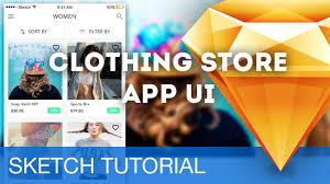 sketch 3 tutorial u2022 clothing store app ui ios u2022 sketchapp