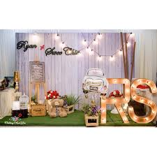 wedding backdrop design malaysia photo booth decoration photobooth