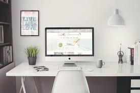 free imac 5k retina 27 inch home office mockup creativebooster