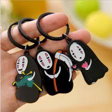 8pcs lot hayao miyazaki anime series faceless doll