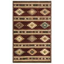 southwest area rugs rizzy home southwest multicolor 9 ft x 12 ft area rug