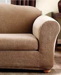 2 Piece T Cushion Sofa Slipcover by Striped Sofa Slipcovers Centerfieldbar Com