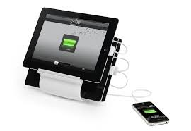 amazon com kanex sydnee 4 port 2 1a usb charging station for ipad