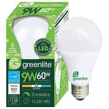 greenlite led shop light tool greenlite 9w led omnid led a type bulb dimmable omni