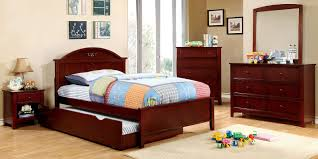 Youth Bed Sets by Buy Furniture Of America Cm7942ch T Set Medina Cherry Panel