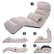 folding lazy sofa couch with pillow floor chairs chairs