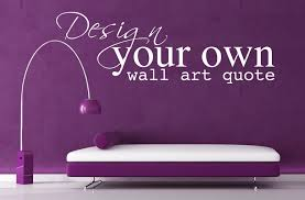 Design Your Own Wall Art Stickers Home Design Ideas - Design your own wall art stickers