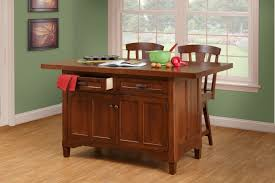 Wood Kitchen Island Table Kitchen Islands Amish Custom Furniture Amish Custom Furniture