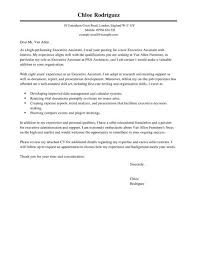 executive assistant cover letter executive assistant cover letter exles for admin livecareer