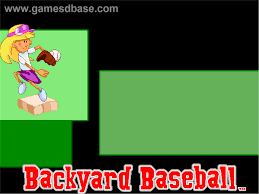 backyard baseball humongous entertainment play online backyard