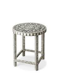bone inlay side table bone inlay furniture at contemporary furniture warehouse accent