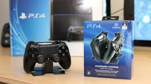 Recharge Station Ps4 Charging Station Unboxing Ps4 Giveaway Announcement Youtube