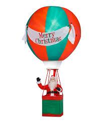 Zulily Home Decor by Santa Air Balloon Inflatable Light Up Lawn Décor Zulily