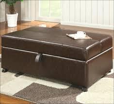 furniture marvelous ottoman box big tufted ottoman tan leather