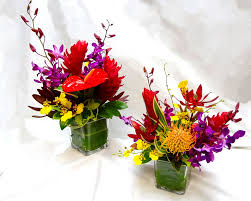 small flower arrangements for tables tropical arrangements a special touch florists serving lahaina
